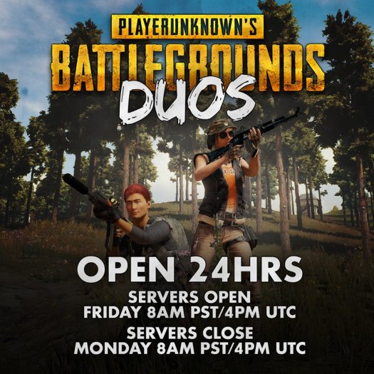 PLAYERUNKNOWN'S BATTLEGROUNDS Opens Servers for 24 Hours this Weekend Only