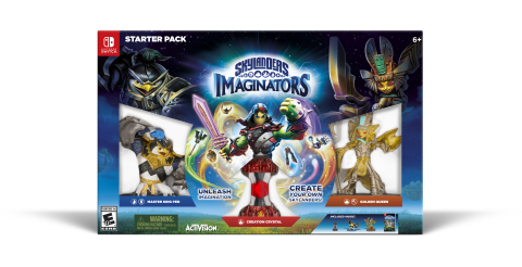 Skylanders Imaginators Available Now on Nintendo Switch