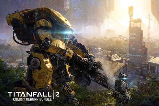 TITANFALL 2 Free DLC Colony Reborn Coming March 30