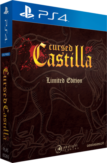Cursed Castilla EX Limited Edition Launching Exclusively for PS4 in Asia this May