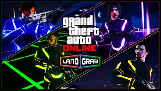 GTA Online Introduces New Adversary Mode - Land Grab
