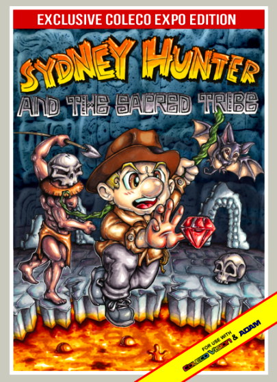 Coleco Officially Releases Exidy's Sydney Hunter & The Sacred Tribe