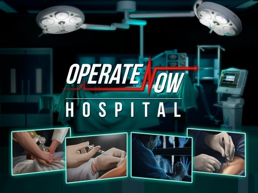 OPERATE NOW: HOSPITAL Now on Mobile Devices, Enter to Win $20 in-Game Gift Card Contest
