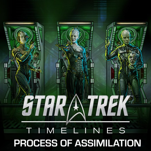 Star Trek Timelines Borg Event 'Process of Assimilation' Enters Final Week