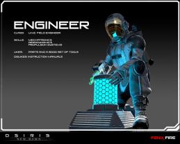 Osiris New Dawn Engineer Gaming Cypher