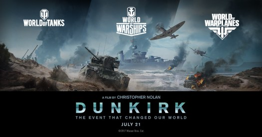 Players Will Remember Dunkirk with Wargaming's Suite of WWII Action Video Games