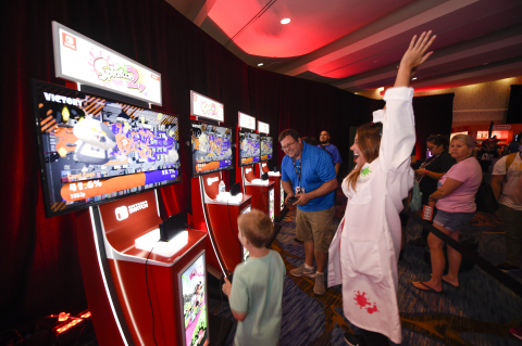 Photos Revealed of Nintendo Splatoon 2 Cosplay and Nintendo Lounge at San Diego Comic-Con