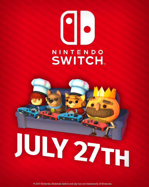 Overcooked: Special Edition Launching on Nintendo Switch July 27