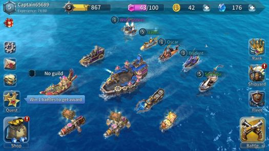 SailCraft 3D PVP BattleShip Game August Release Date Announced for Mobile
