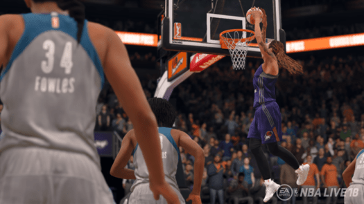 WNBA Teams to Make Official Video Game Debut in NBA LIVE 18