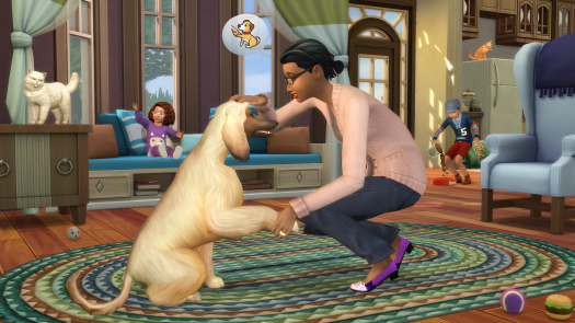 EA and MAXIS Launch THE SIMS 4 Cats & Dogs Expansion Pack