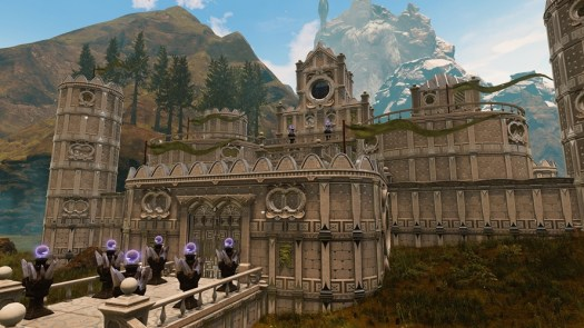 Citadel: Forged With Fire Update Lets You Construct a Custom High-End Castle with Marble Structure Set