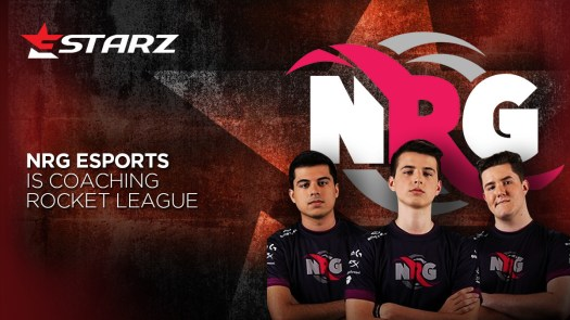 Estarz and NRG eSports Announce Partnership to Release First Pro Coaching Course for Rocket League