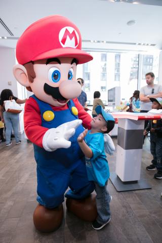 Nintendo Reveals Back-to-School Celebration Photos at the Nintendo NY Store