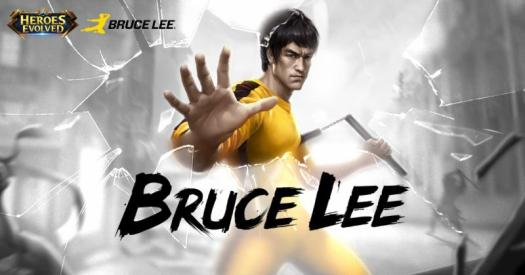Bruce Lee Makes MOBA Debut in Heroes Evolved