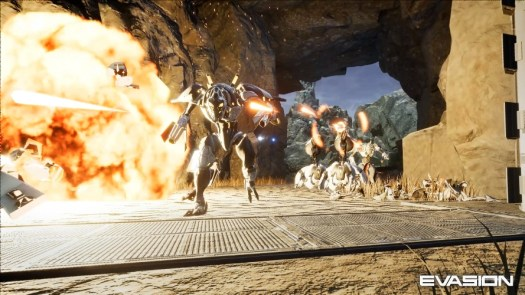 EVASION Multi-Player Sci-Fi Shooter Reaches a Whole New Level with AAA VR Blockbuster by Archiact