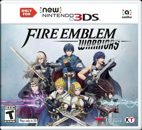 Fire Emblem Warriors for Nintendo Switch and New Nintendo 3DS Launches Oct. 20