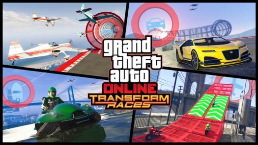 GTA Online Transform Races Trailer Revealed