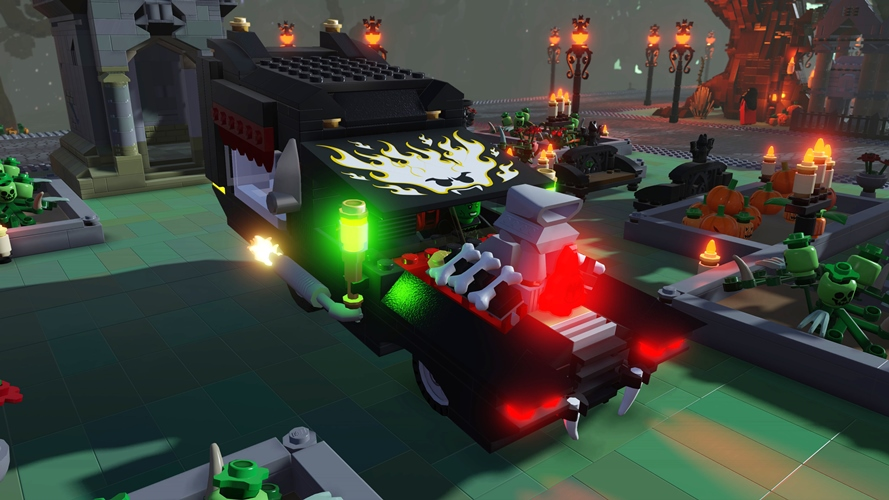 LEGO Worlds Monsters DLC Pack Now Available - Gaming Cypher