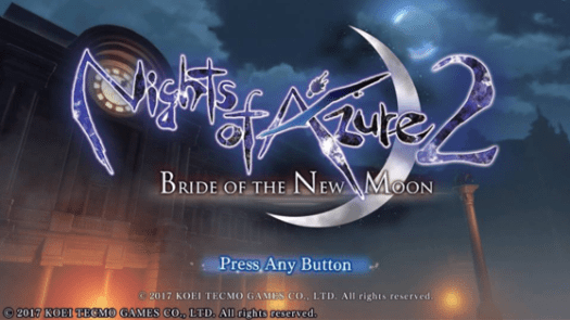 Nights of Azure 2: Bride of the New Moon Review for PlayStation 4