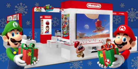 Kick off the Holiday Season with Mario and Other Popular Nintendo Characters