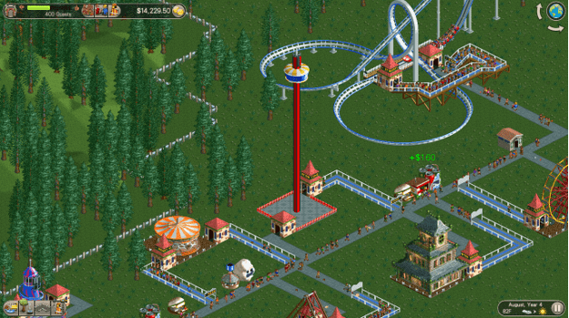 RollerCoaster Tycoon Classic Review for PC - Gaming Cypher