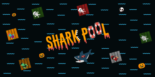 SHARK POOL Arcade Raft-Eating Mobile Game Coming to iOS Oct. 26