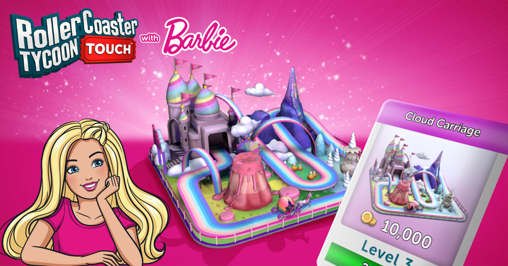 The Barbie Season Now Available in RollerCoaster Tycoon Touch