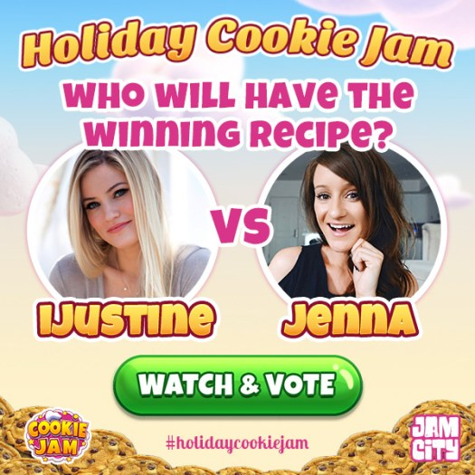 JAM CITY Announces 1st Annual Holiday Cookie Jam in Advance of National Cookie Day