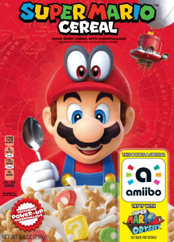 Super Mario Cereal from Kellogg's Makes Breakfast a Playful Experience