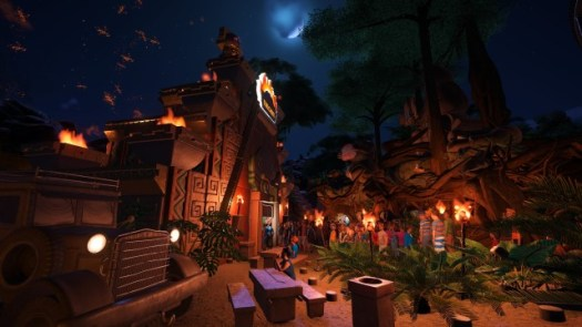 Planet Coaster RIP-ROARING Adventure Pack Now Out
