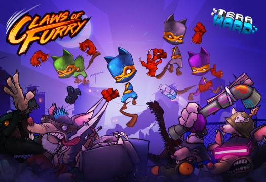 CLAWS OF FURRY Lets You Test Your Ninja Skills & Beat-em Up Badassery