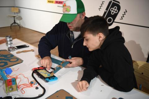 Nintendo Labo Studio Event on Feb. 2, 2018 in New York City Releases Photos