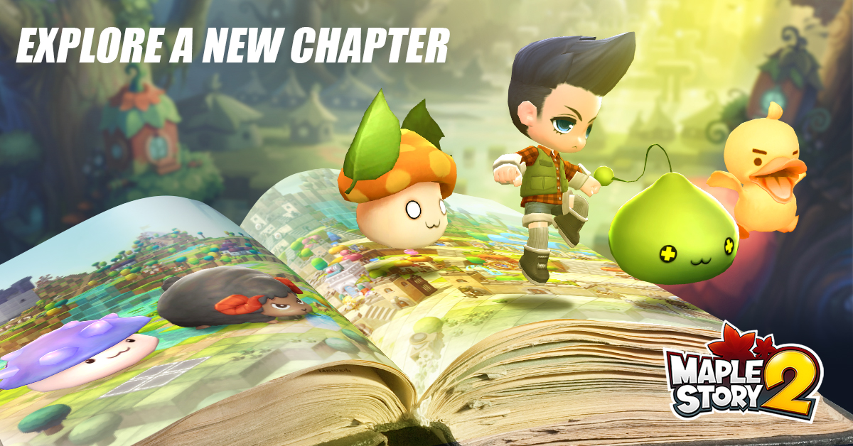 MapleStory 2 Closed Beta Registration Now Open - Gaming Cypher