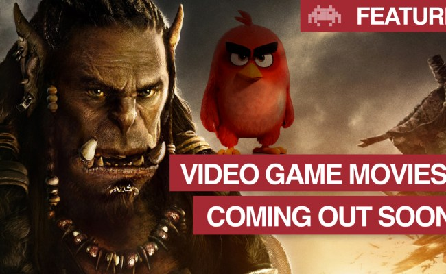 Video Game Movies Coming Out Soon Gaming Movies 2016