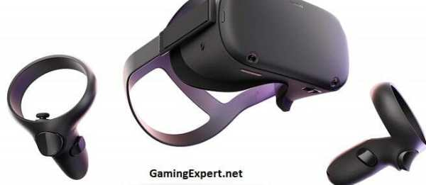 Oculus Quest VR gaming headset image