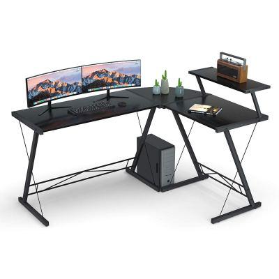 Coleshome L Shaped Desk Home Office Desk