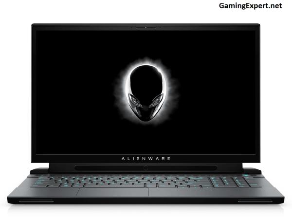 Dell Alienware m17 R2 front