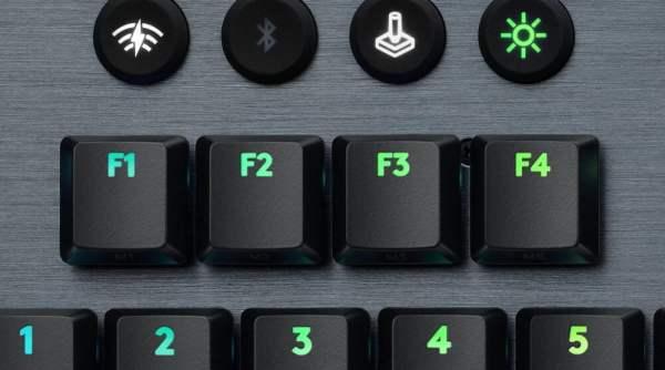 Logitech G915 TKL F keys