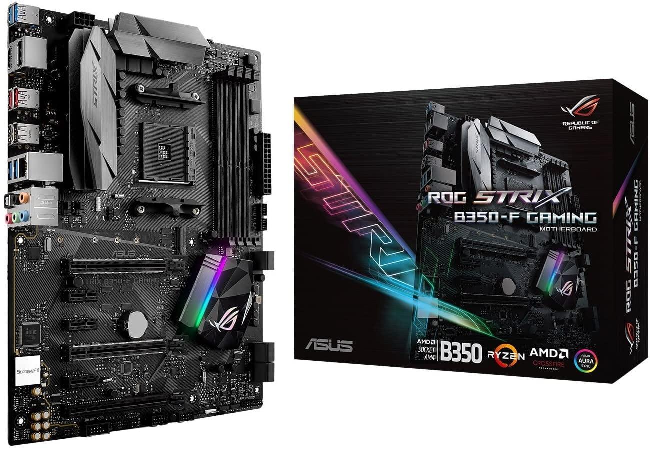 ASUS ROG STRIX B350-F motherboard