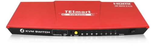 TESmart HDMI 4K Ultra HD 4x1 HDMI KVM Switch
