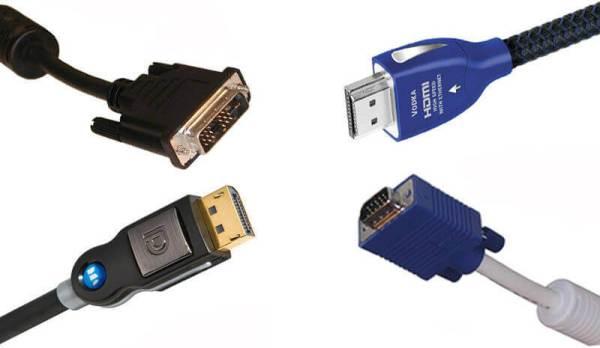 HDMI VS DVI VS VGA VS DisplayPort