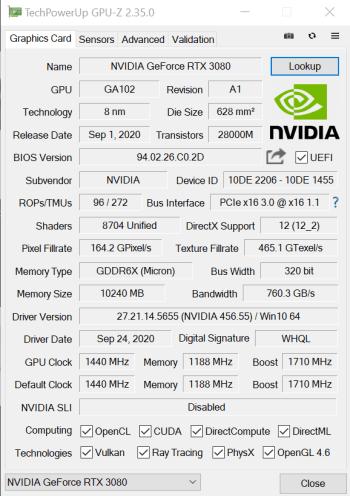 TechPowerUp GPU-Z benchmark