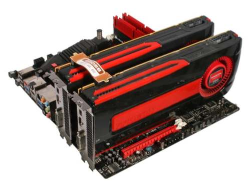 Installing AMD crossfire graphics card