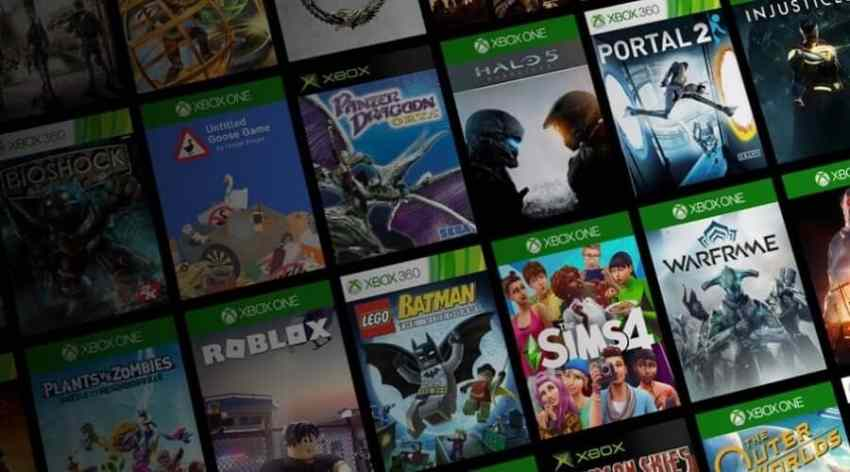 Games Library of Xbox Series