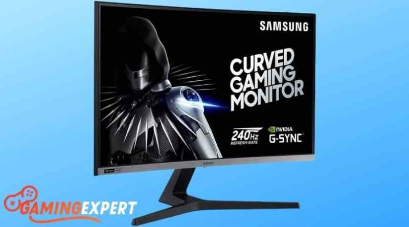 Samsung 27-Inch CRG5 Curved Gaming Monitor under $500