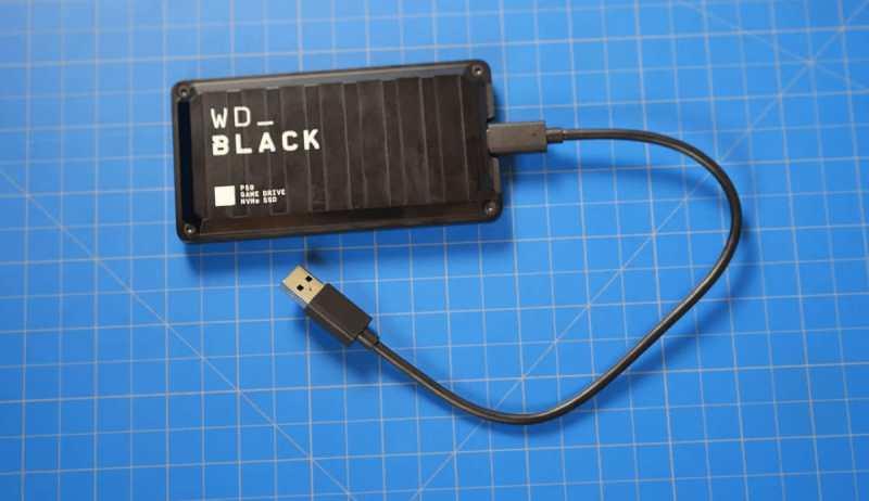 WD_Black P50 Game Drive Portable SSD image 2