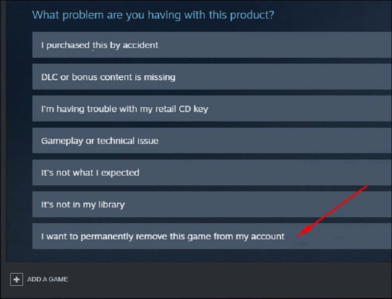 remove steam game 2