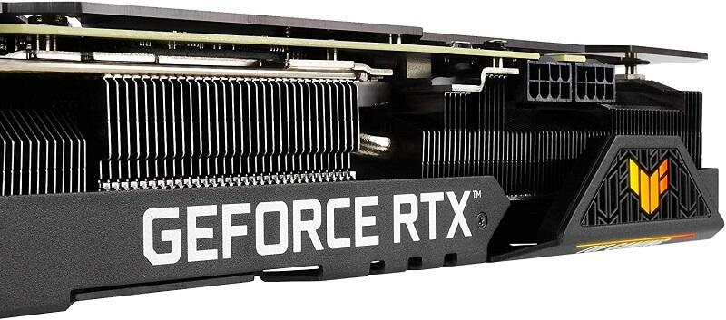 ASUS TUF Gaming NVIDIA GeForce RTX 3080 OC cooling
