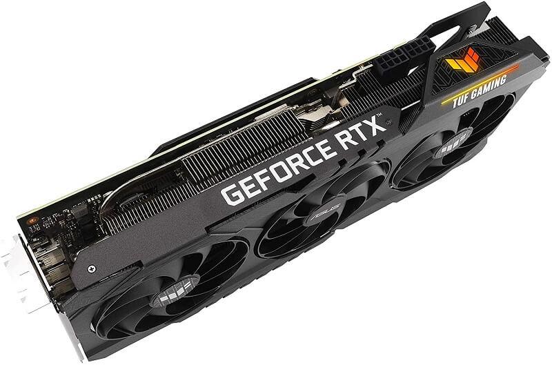 ASUS TUF Gaming NVIDIA GeForce RTX 3080 OC dimensions